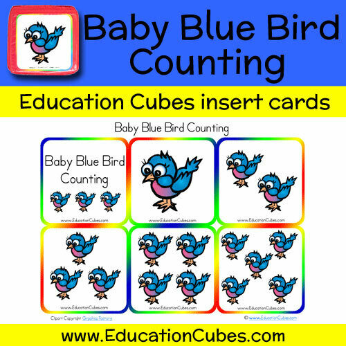Baby Blue Bird Counting