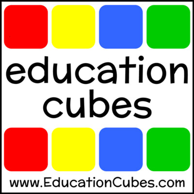 Education Cubes Insert Cards