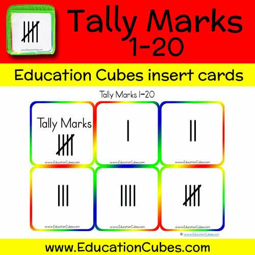 Tally Marks 1-20