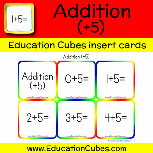 Addition Facts (+5)