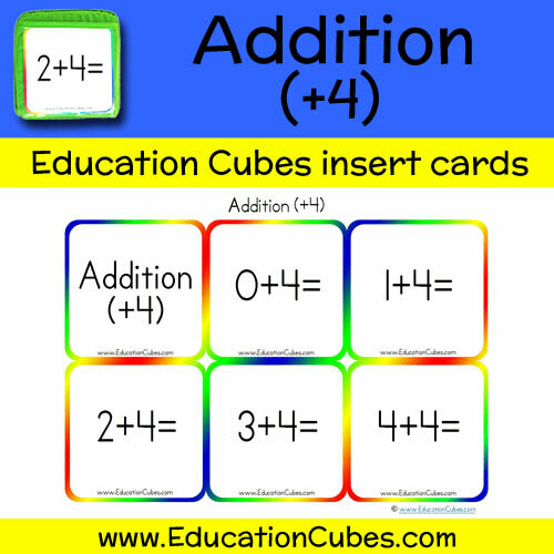 Addition Facts (+4)
