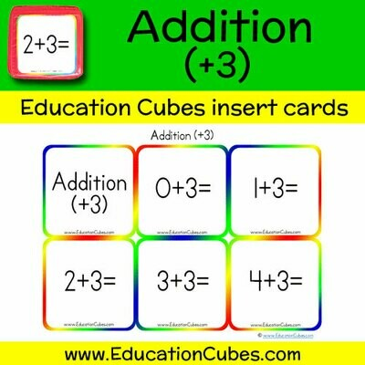 Addition Facts (+3)