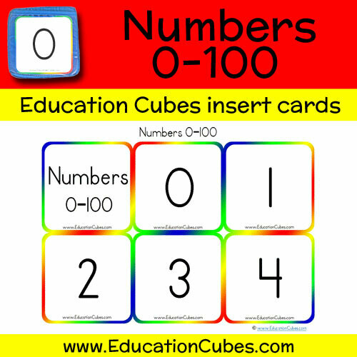 Numbers 0-100