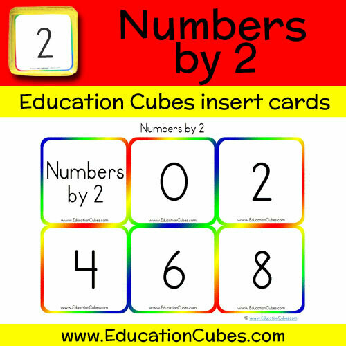 Numbers by 2