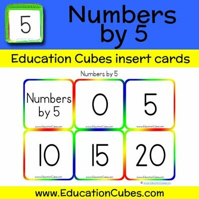 Numbers by 5