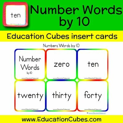 Number Words by 10