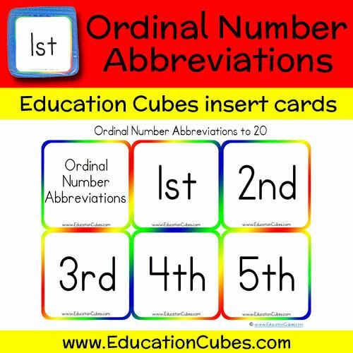Ordinal Number Abbreviations