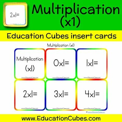 Multiplication Facts (x1)