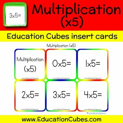 Multiplication Facts (x5)