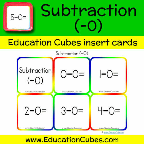 Subtraction Facts (-0)