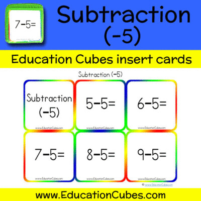 Subtraction Facts (-5)