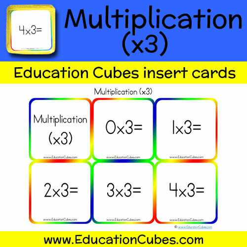 Multiplication Facts (x3)
