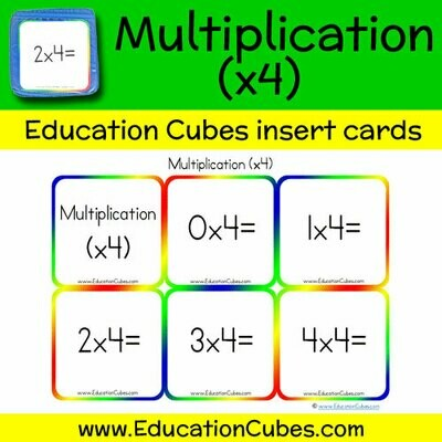 Multiplication Facts (x4)