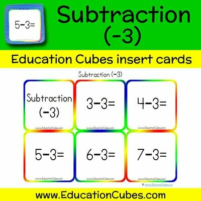 Subtraction Facts (-3)