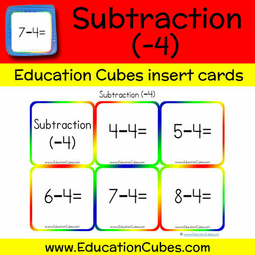 Subtraction Facts (-4)