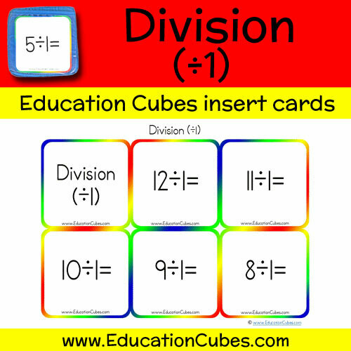 Division Facts (÷1)