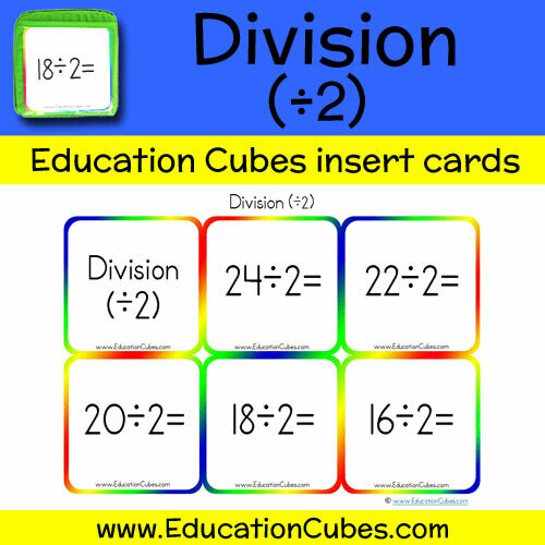 Division Facts (÷2)