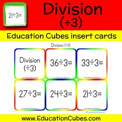 Division Facts (÷3)