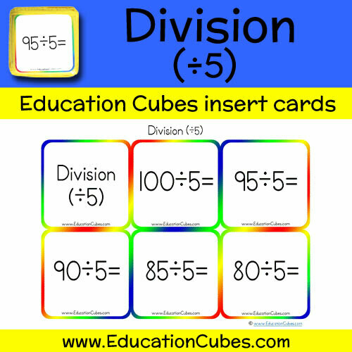 Division Facts (÷5)