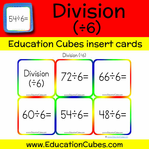 Division Facts (÷6)