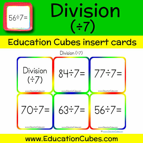 Division Facts (÷7)