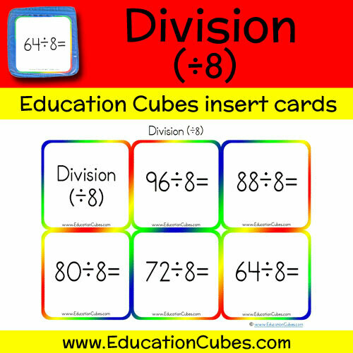 Division Facts (÷8)