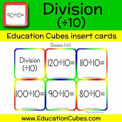 Division Facts (÷10)