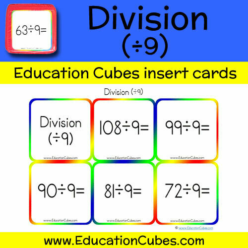 Division Facts (÷9)
