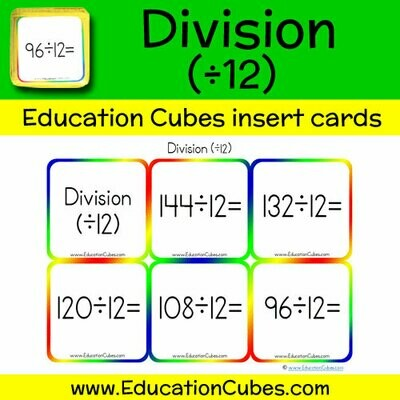 Division Facts (÷12)