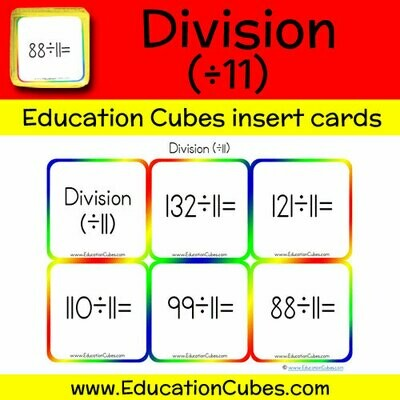 Division Facts (÷11)