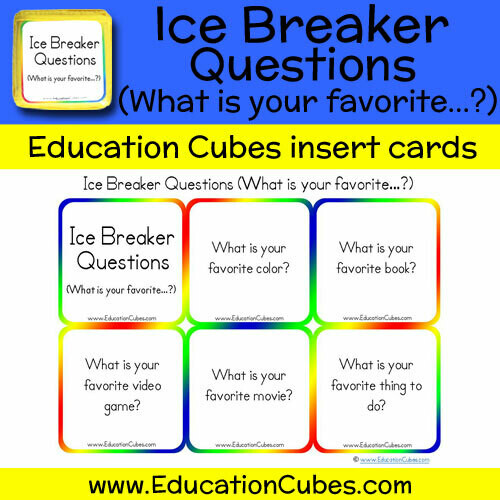 Ice Breaker Questions (What is your favorite...?)