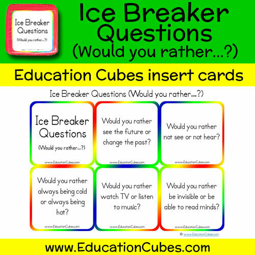 Ice Breaker Questions (Would you rather...?)