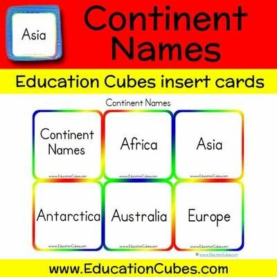 Continent Names