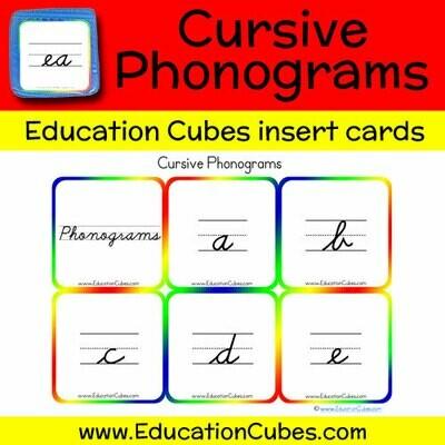 Cursive Phonograms
