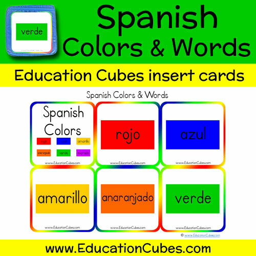 Spanish Colors & Words