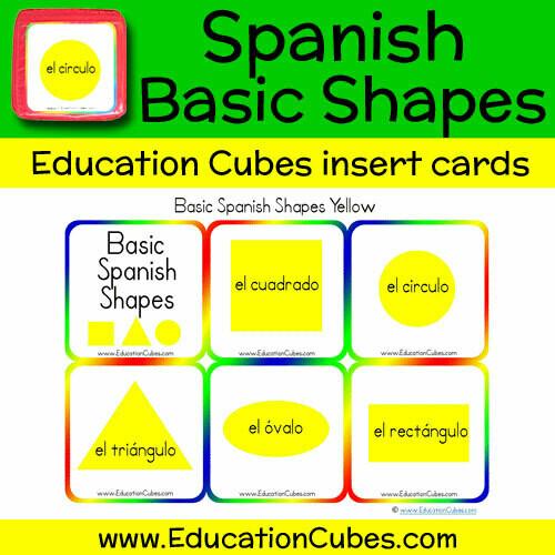 Spanish Basic Shapes (yellow)