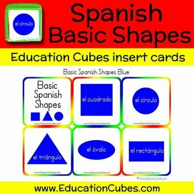 Spanish Basic Shapes (blue)