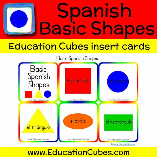Spanish Basic Shapes