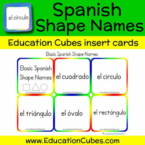 Spanish Shape Names