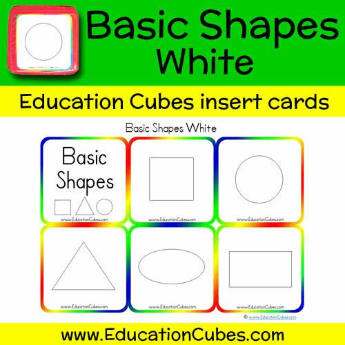 Basic Shapes White