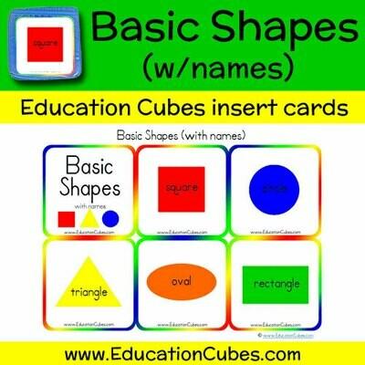 Basic Shapes (w/names)