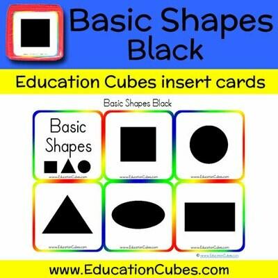 Basic Shapes Black