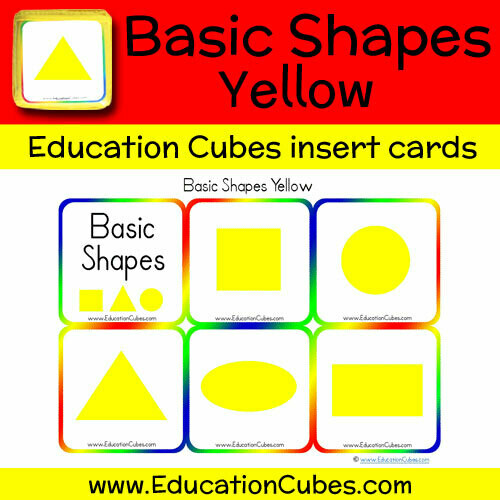 Basic Shapes Yellow