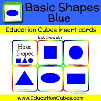 Basic Shapes Blue