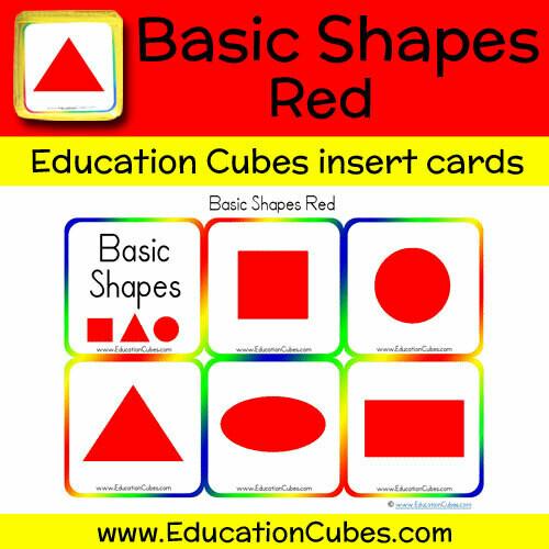 Basic Shapes Red