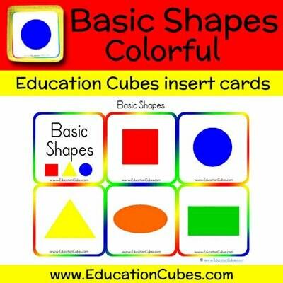 Basic Shapes (Colorful)