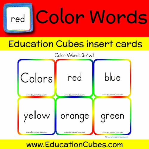 Color Words (b/w)