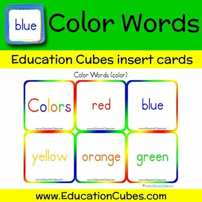 Color Words (color)