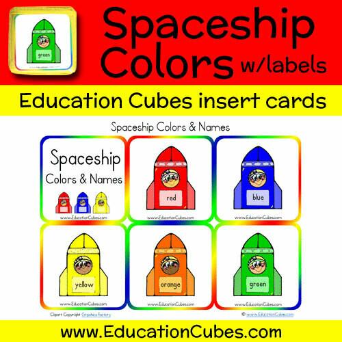 Spaceship Colors & Names