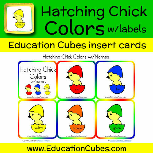 Hatching Chick Colors & Names